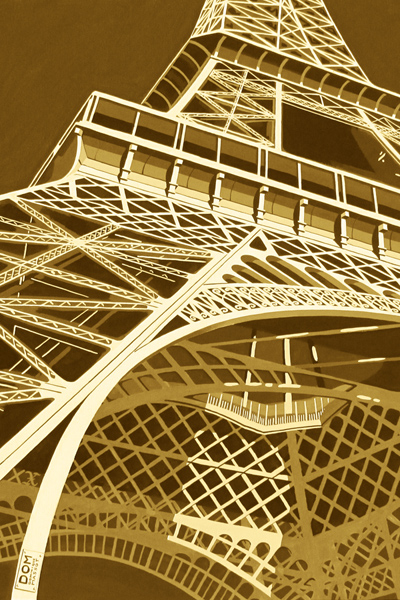 Tour Eiffel Ziplama refurbished